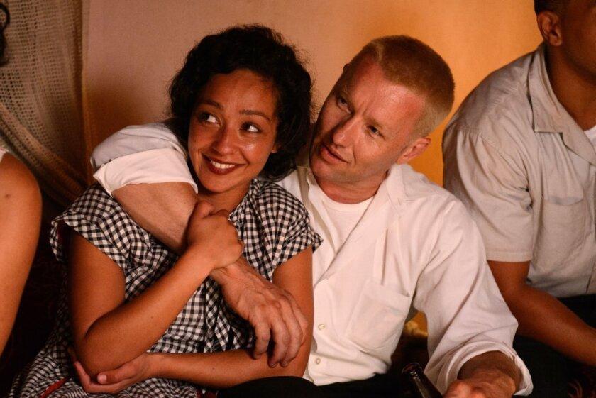 "Ruth Negga and Joel Edgerton in a scene from ""Loving."""