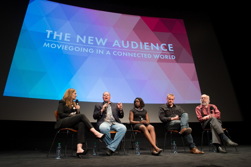 The New Audience: Moviegoing in a Connected World