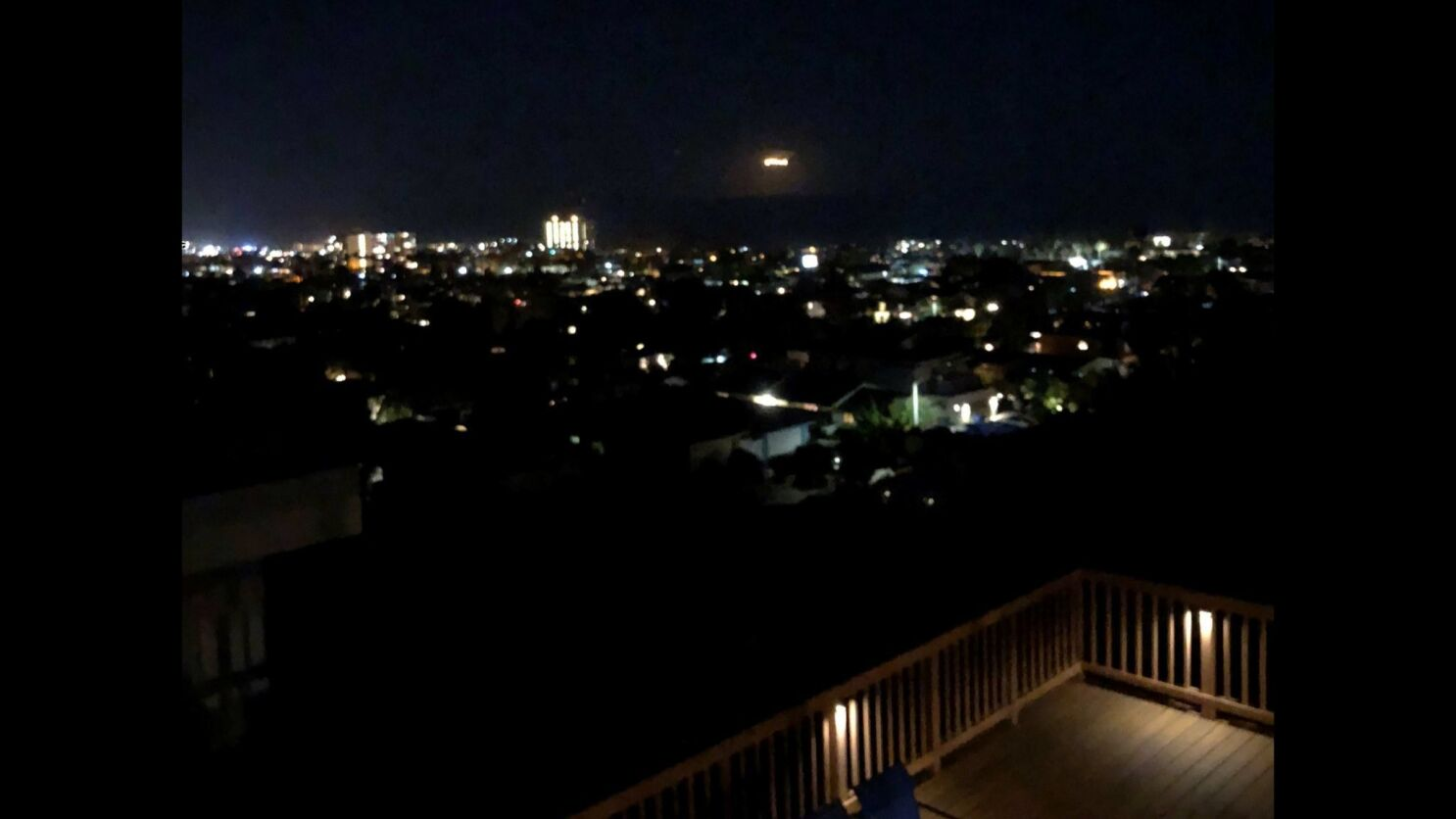 Mysterious Lights Appear Then Fade Away From Sky West Of San Diego
