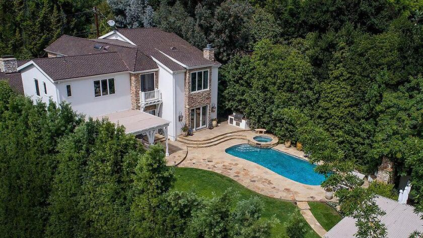 Mike Medavoy's home in the Beverly Hills Post Office area