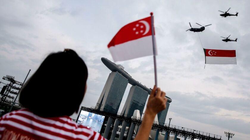 SIngapore celebrates 53rd National Day - 09 Aug 2018