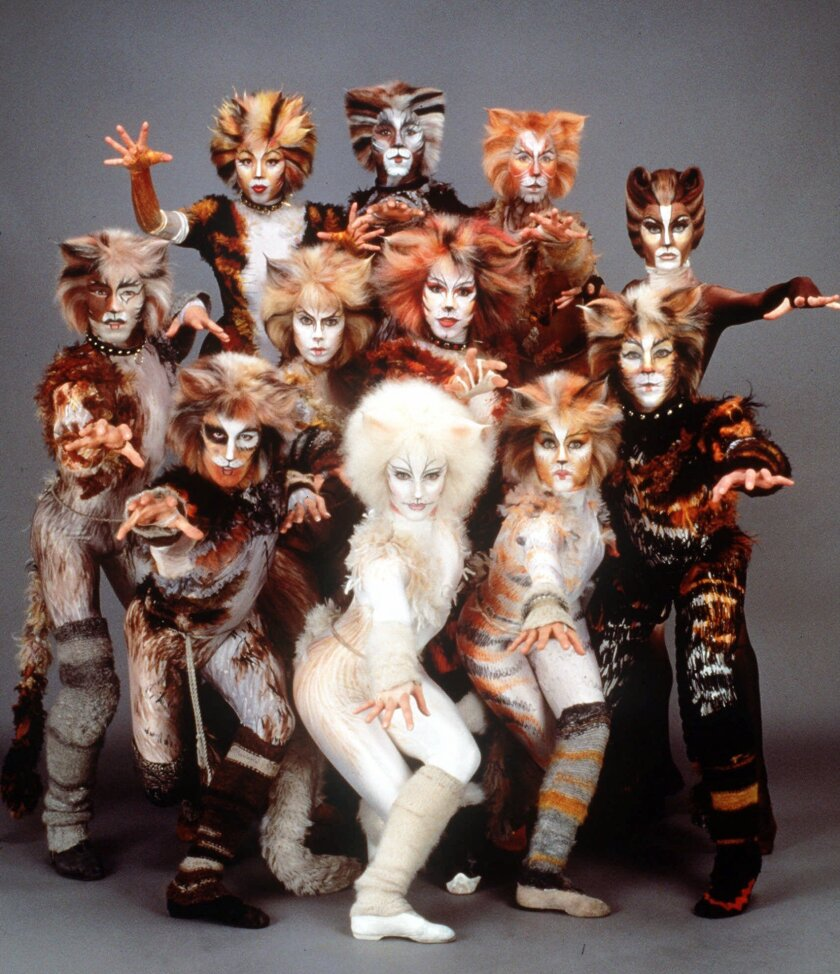 """The cast of the stage musical """"Cats"""""""