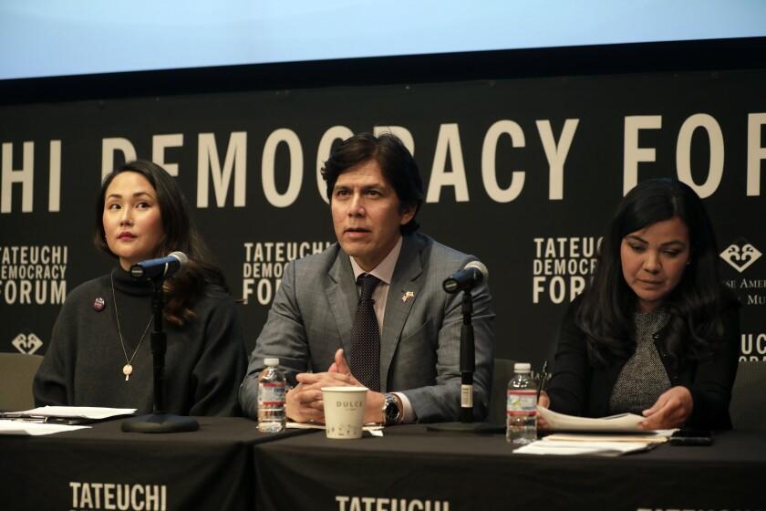 Cyndi Otteson, Kevin de León, Raquel Zamora