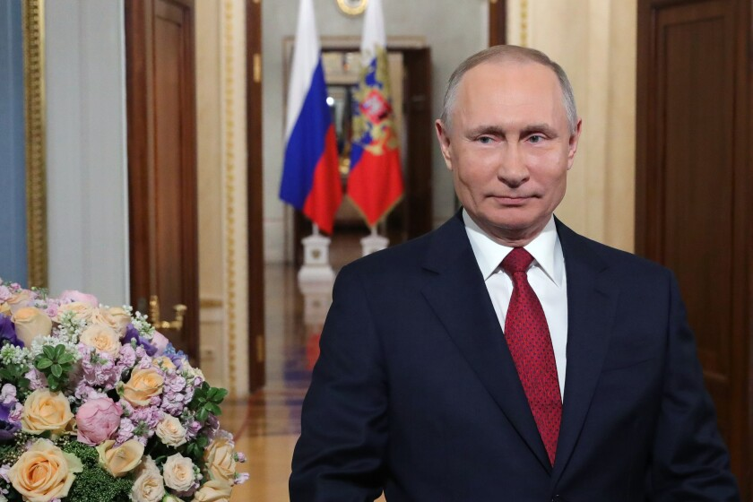 Vladimir Putin, 67, has been in power for more than 20 years, becoming Russia's longest-serving leader since Soviet dictator Josef Stalin.