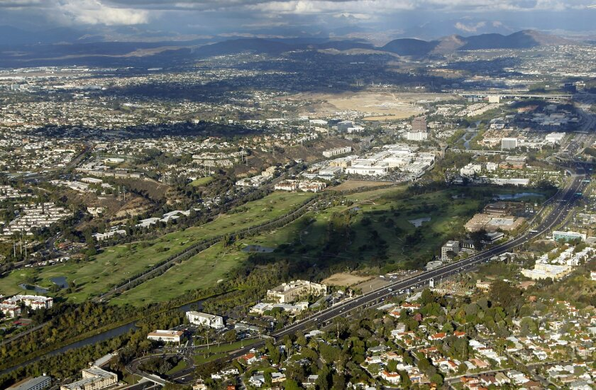 Mission Valley is one of several areas in San Diego that will undergo a transformation that will include increased housing density and transit-oriented neighborhoods.