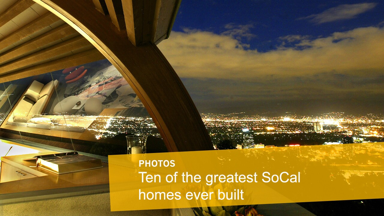 Ten of the greatest SoCal homes ever built