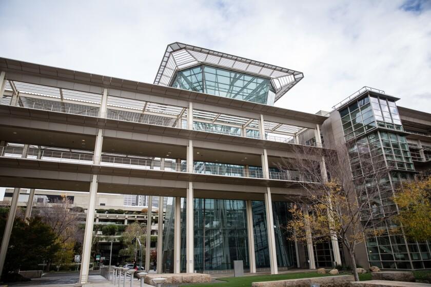 The California Public Employees' Retirement System building in Sacramento on Nov. 3, 2014.