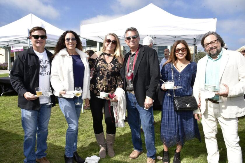 Participants at the 2019 Encinitas Rotary Wine & Food Festival