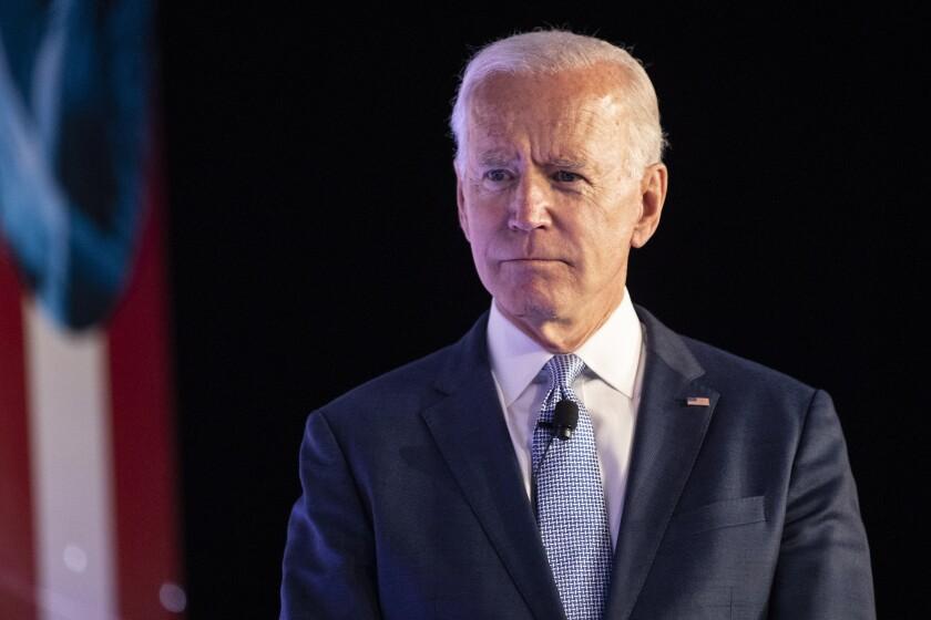 Joe Biden attends SEIU's Unions for All summit in Los Angeles