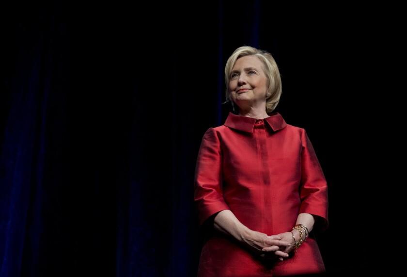 Hillary Rodham Clinton in Fairfax, Va., on June 26.