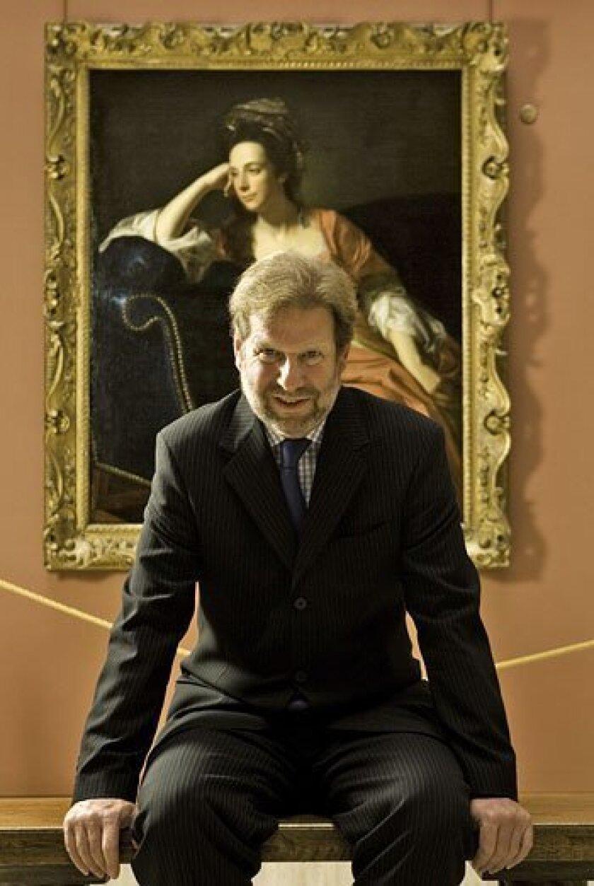Director John Wilson inside the Timken Museum of Art. (Howard Lipin / Union-Tribune)