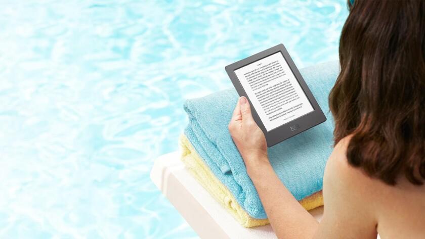 Kobo waterproof e-reader