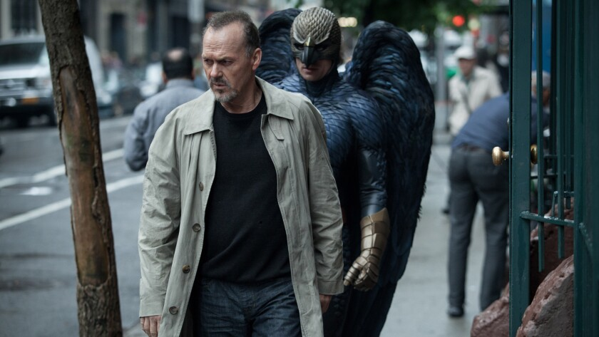 "Michael Keaton may never be better than his role in ""Birdman,"" which is brilliant on several levels as it presents a scathing look at the cult of celebrity."