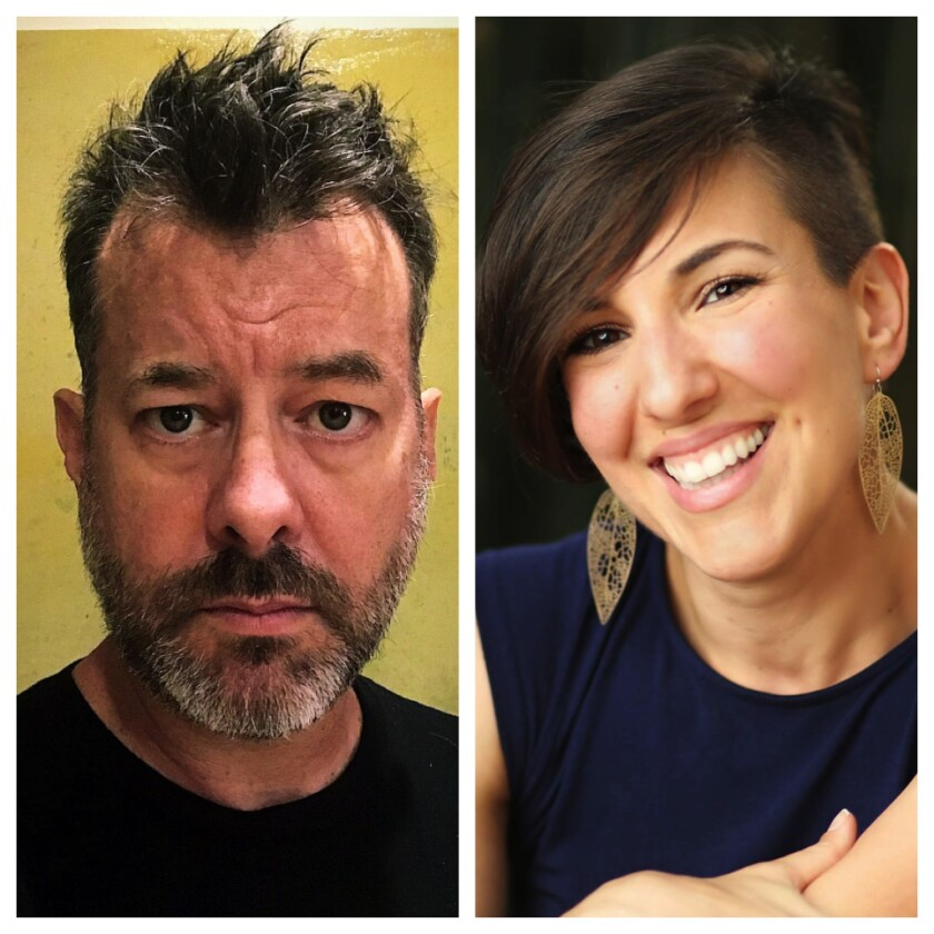 Playwright and director Michael John Garcés, left, and choreographer Ana Maria Alvarez were named 2020 Doris Duke Artists.