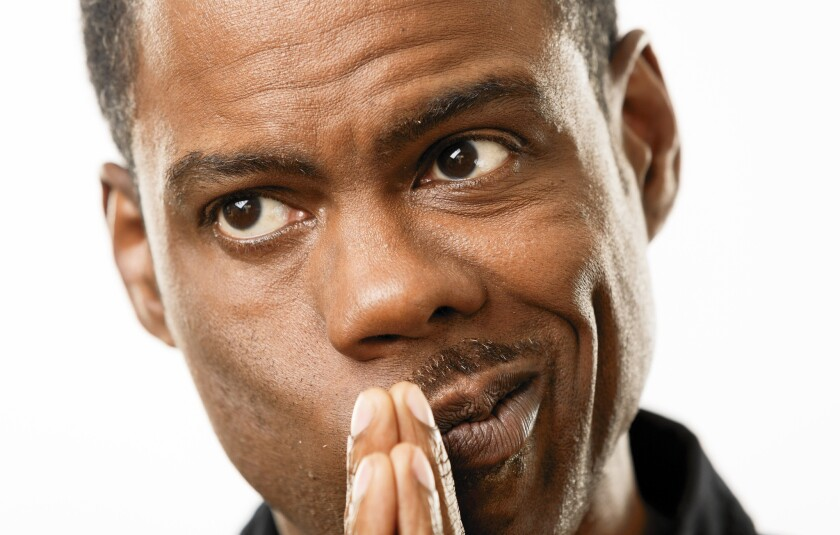 The Oscars: Only one choice to host awards: Chris Rock