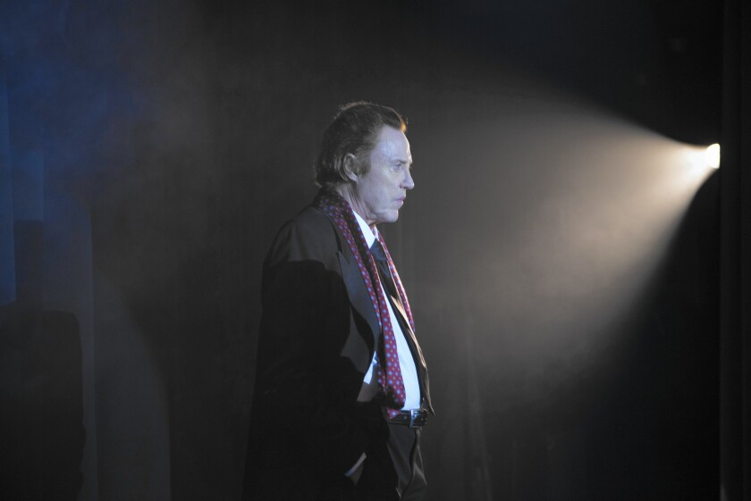 """Christopher Walken stars as Paul in the movie """"One More Time."""""""