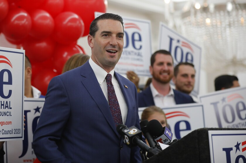 Joe Leventhal on the campaign trail