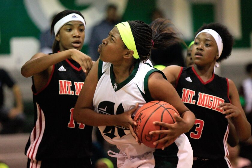 Irma Ealy and her Helix teammates remain the No. 1 seed in Division II despite a shakeup involving Central High.