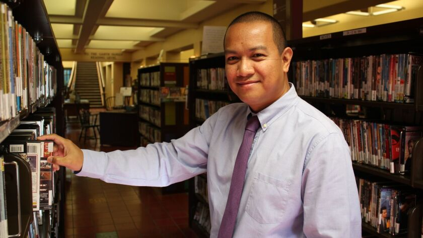 Dennis Abad at Riford Library
