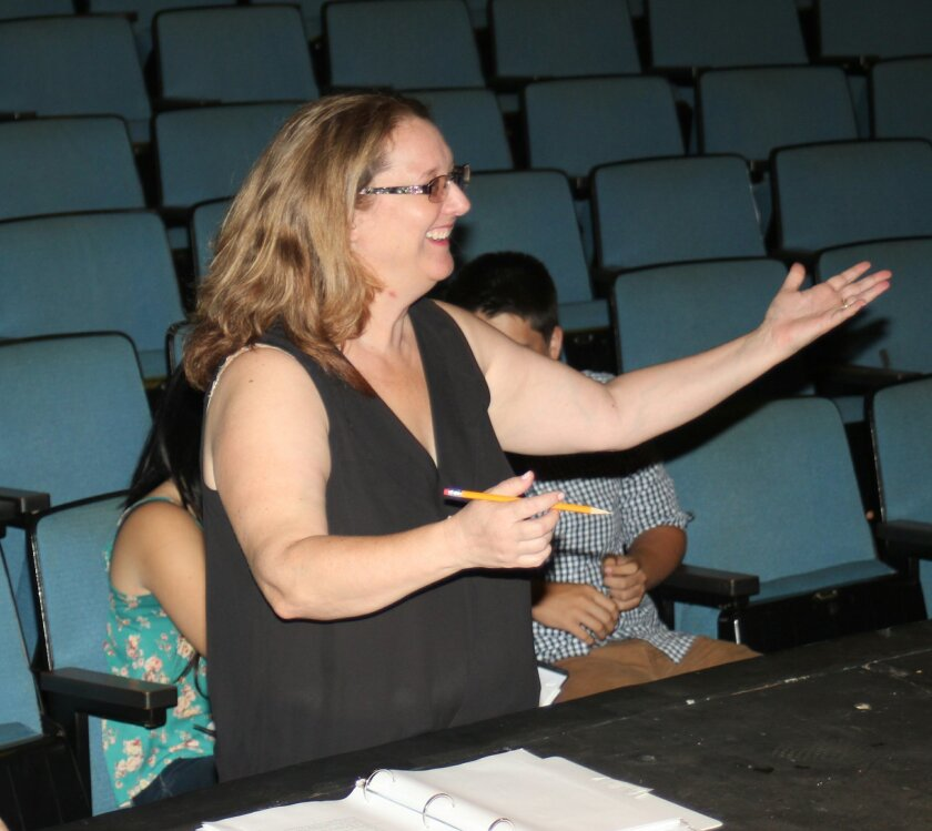"""""""We need to train creative minds for creative problem solving — and theatre certainly does that for students."""" — Marjorie TregerLa Jolla High's new drama teacher"""