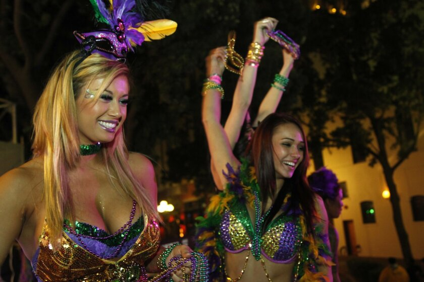39ae82b2d6 Fat Tuesday is fast approaching, and San Diego celebrates with beads and  booze