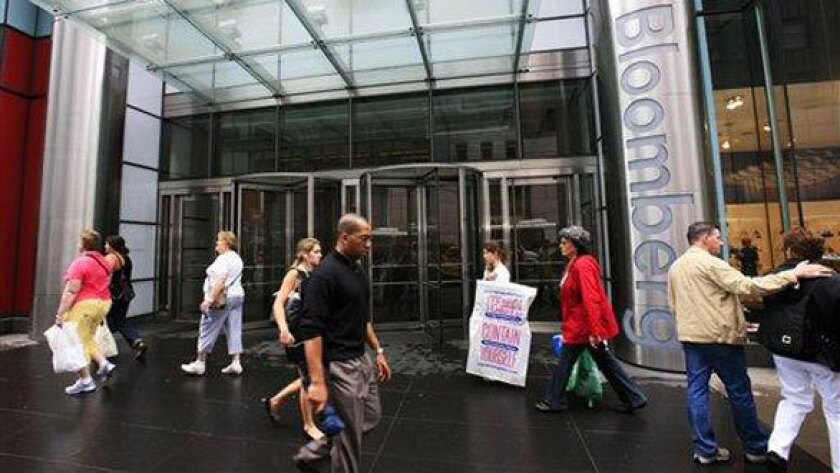 Bloomberg downsizes arts coverage, lays off stage critic