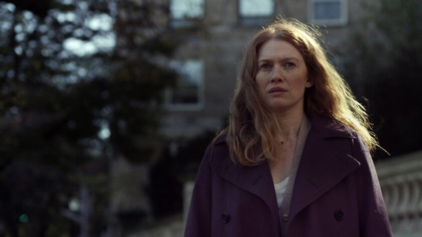"""Mireille Enos in the movie """" Never Here."""""""