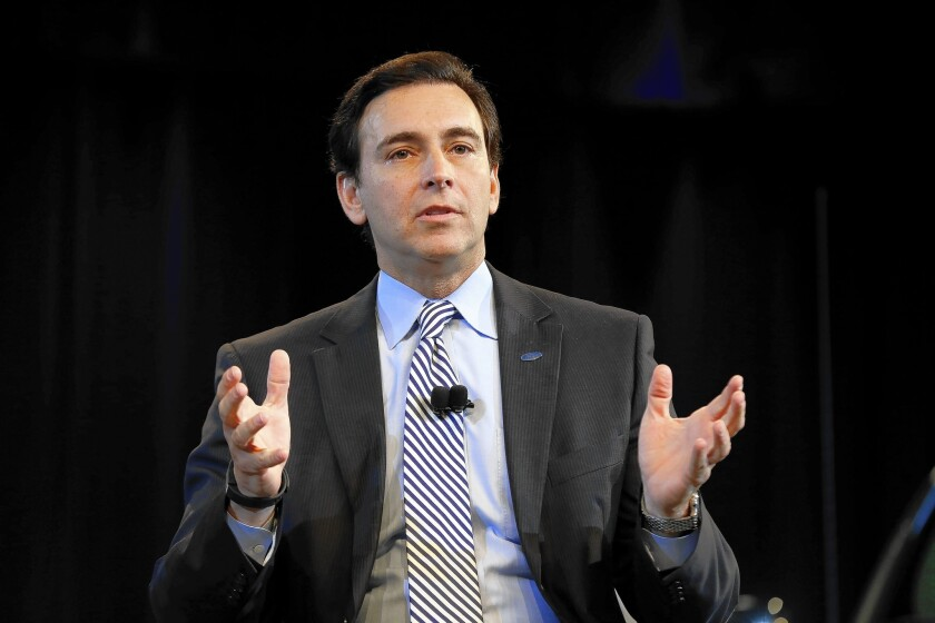 Mark Fields to replace Alan Mulally as Ford chief executive - Los