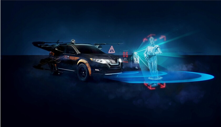 Nissan Dealership San Diego >> Nissan Using The Force Of Star Wars To Teach About Safety