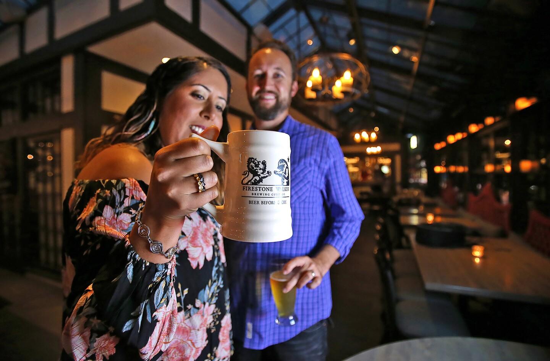 Porktoberfest at the Five Crowns brings Firestone Walker's cold beers