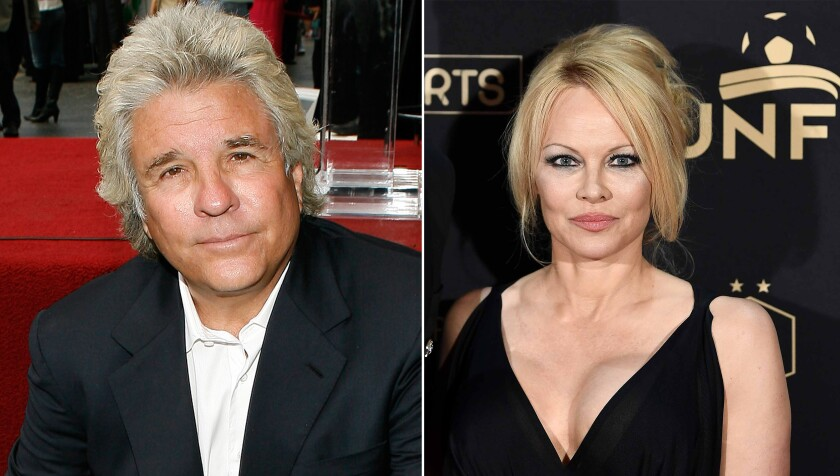 Pamela Anderson marries movie producer Jon Peters in private ceremony