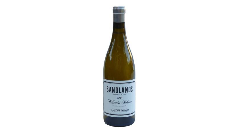 2014 Sandlands Amador County Chenin Blanc