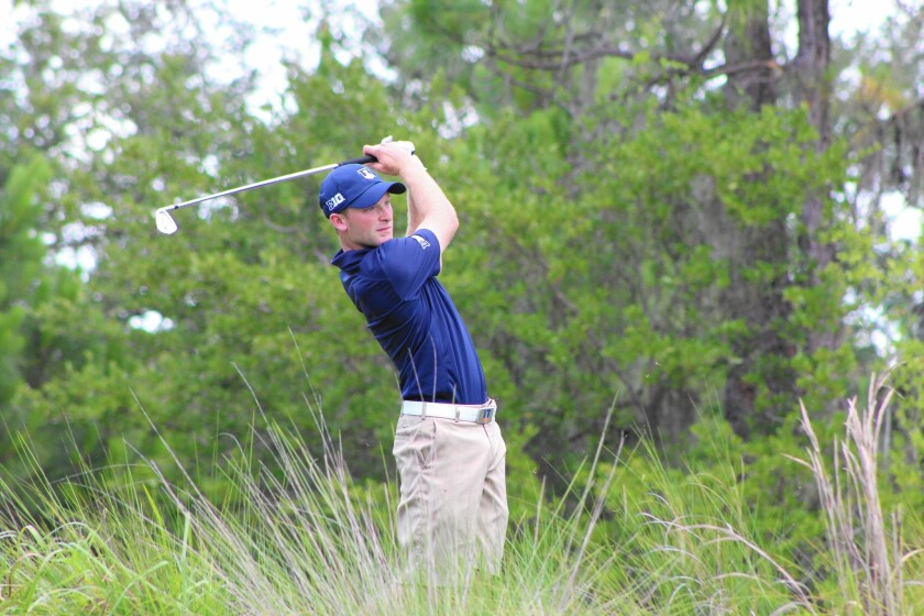 Brian Campbell of Irvine begins play in the U.S. Open Thursday at 3:01 p.m. on No. 10.