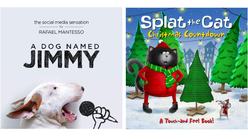 """""""A Dog Named Jimmy"""" and """"Splat the Cat: Christmas Countdown"""""""