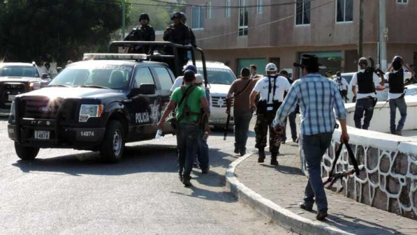 La disputa entre los carteles Jalisco Nueva Generación (CJNG)