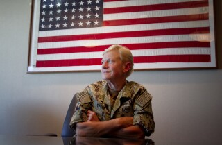 """Vice Admiral Tyson """"to leave a large hole"""" in the Navy"""