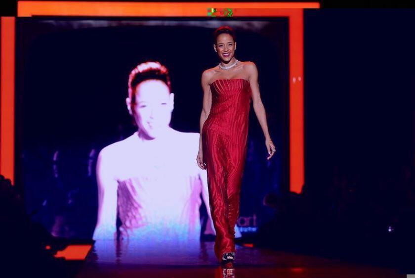 """La actriz dominicana Dania Ramírez alista dos estrenos cinematográficos para el próximo año, tras la cancelación de la serie """"Devious Maids"""" que hasta agosto pasado se mantuvo en el aire por cuatro temporadas. EFE/ARCHIVO"""