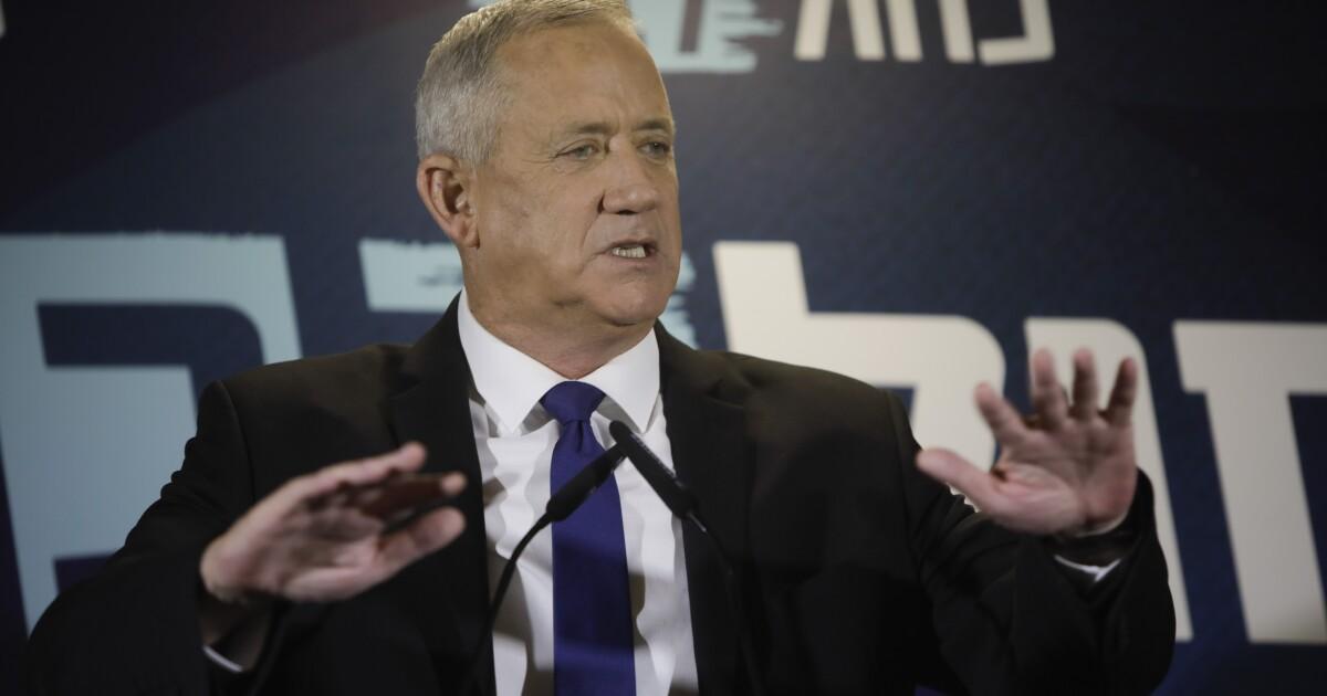 Netanyahu rival Benny Gantz declares victory in Israel election