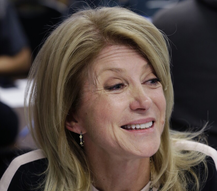 Texas State Sen. Wendy Davis won't get help in her gubernatorial campaign from the Democratic Governors Assn.