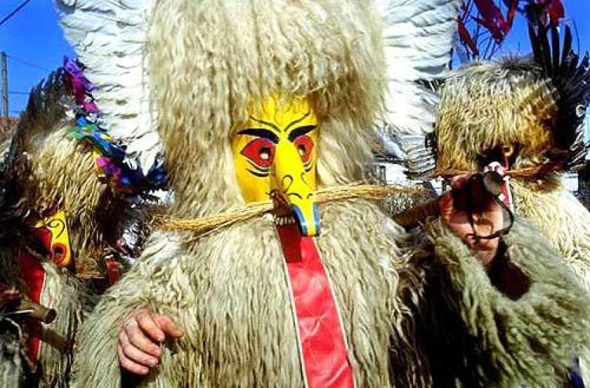In Ptuj, Slovenia, costumed kurents populate Kurentovanje, the annual pre-Lenten carnival. Kurents are said to bring luck and abundant crops.