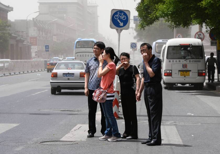 "Beijing in May. ""I want them to leave before they hate this place,"" one American executive said of his family's decision to leave pollution-choked Beijing."
