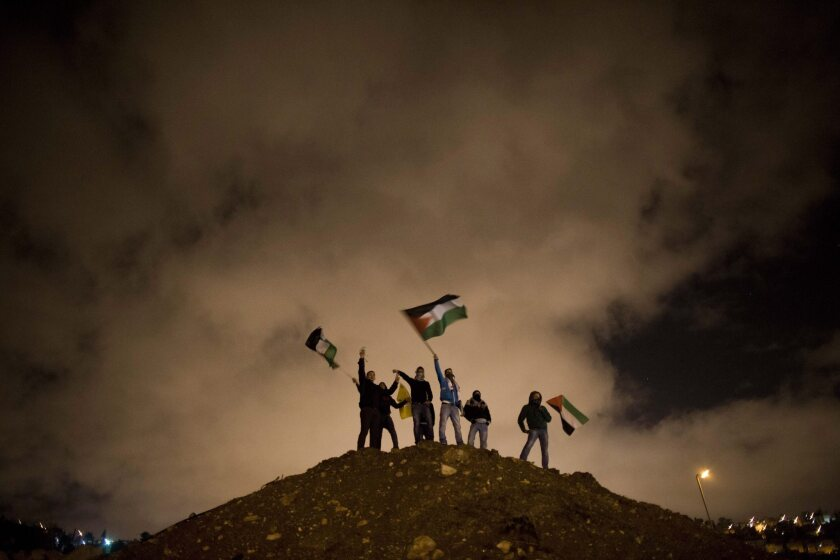 Palestinians await the release of prisoners