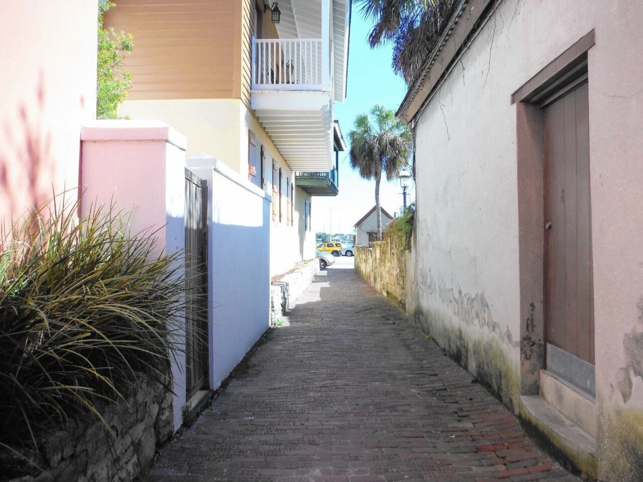 Treasury Street is one of the oldest streets in St. Augustine.