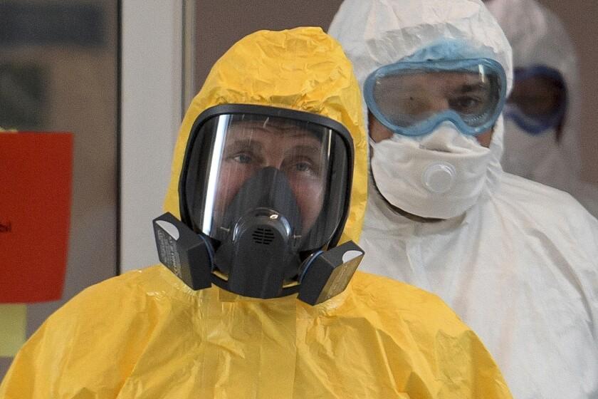 Virus Outbreak Russia Fake News