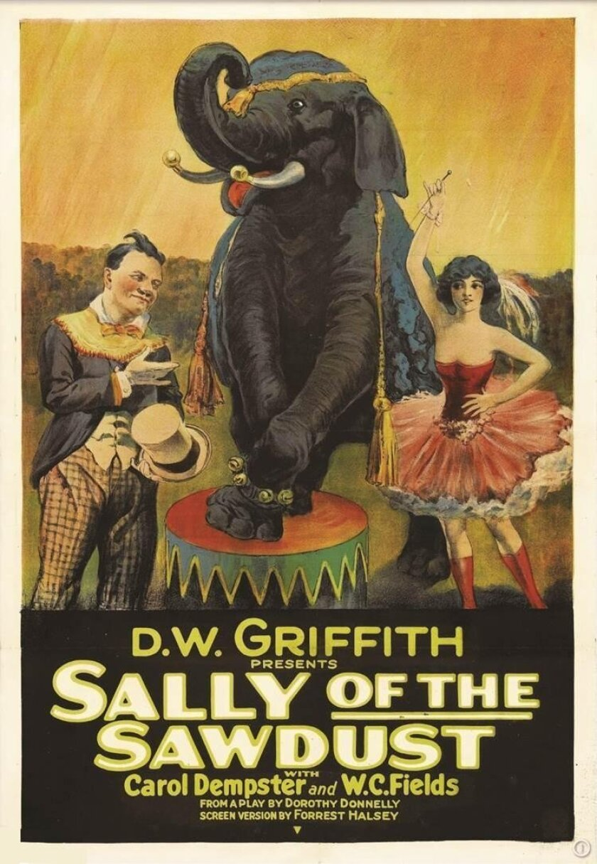 The silent film 'Sally of the Sawdust' (1925) will screen 7 p.m., Thursday Aug. 11 at The LOT movie theater, 7611 Fay Ave.