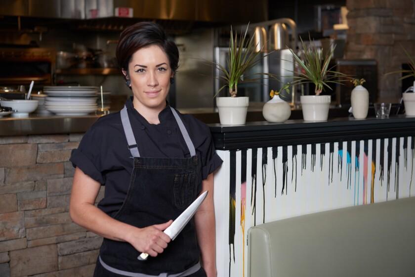 Chef Rachel Snyder. (Brevlin Blach)