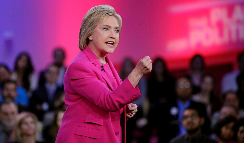 Hillary Clinton at Nevada town hall meeting
