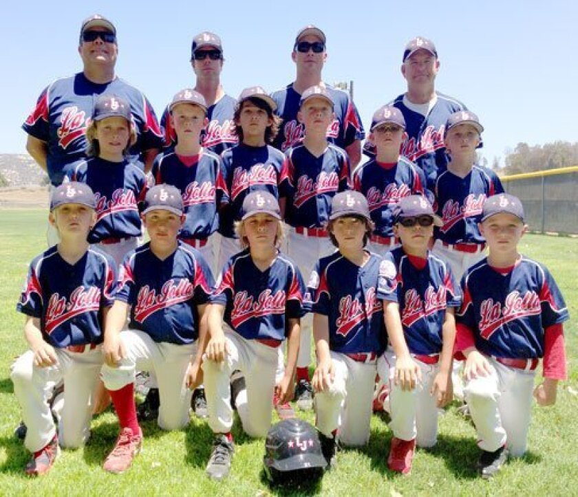 Southern California Southeast Section runner-up (second place out of 12 teams), bottom row: Beau Brown, Jacob Campagna, Binks Deatherage, Dillon Popkins, Jamil Labra and Austin Bale. middle row: Julian Solis, Nathan Kirn, Landyn McKeown, Kevin Steel, John Hartford and Ames Kinkead. Back row: manager Michael Solis, coaches Cary Kinkead, Justin McKeown and Charles Hartford. Courtesy Photo