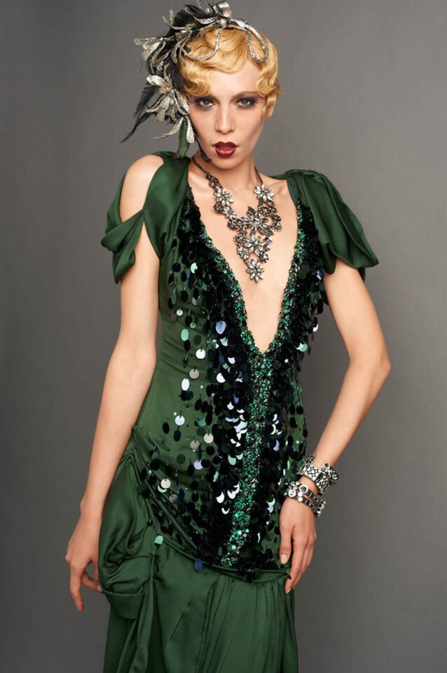 """Looks from the film """"Great Gatsby."""""""