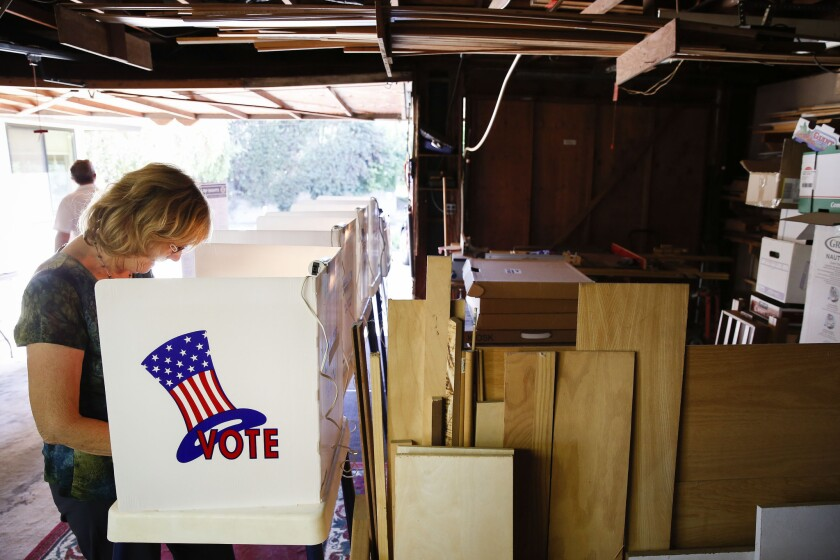 """""""Stay mellow"""" may be a fine personal mantra, but it doesn't do much for voter participation, as California's poor primary turnout suggests."""